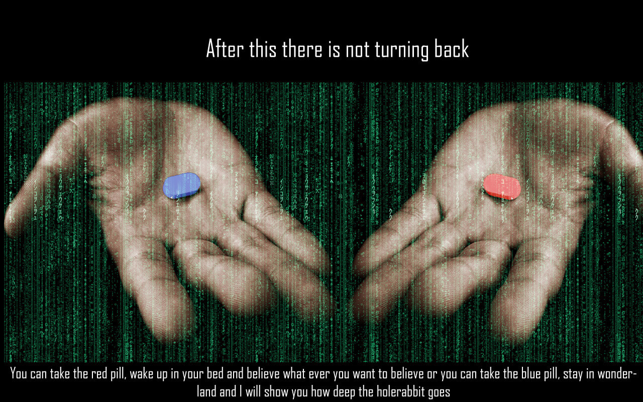 red blue pill